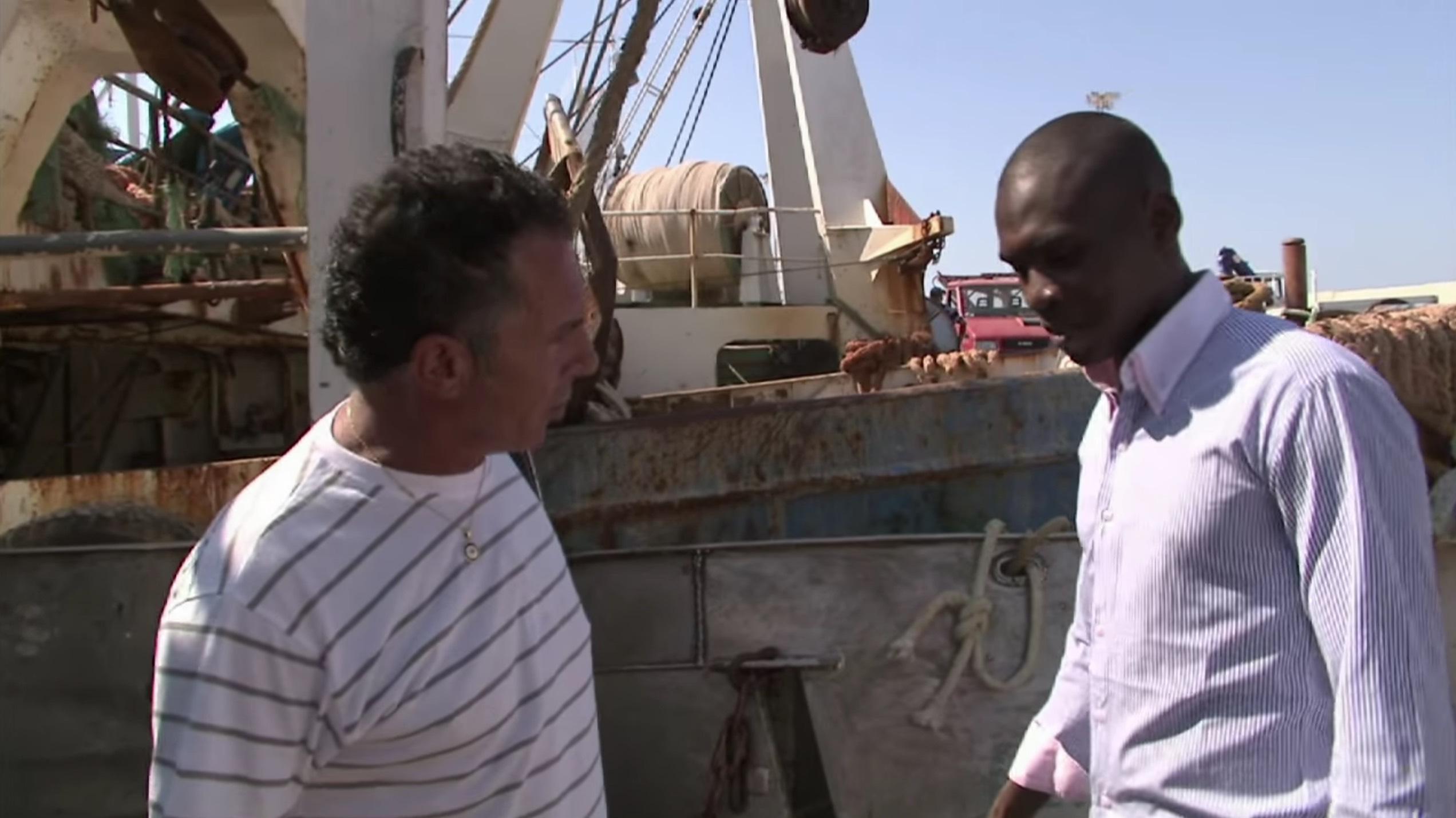 Mohamed e il pescatore