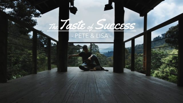 The Taste of Success - Pete & Lisa